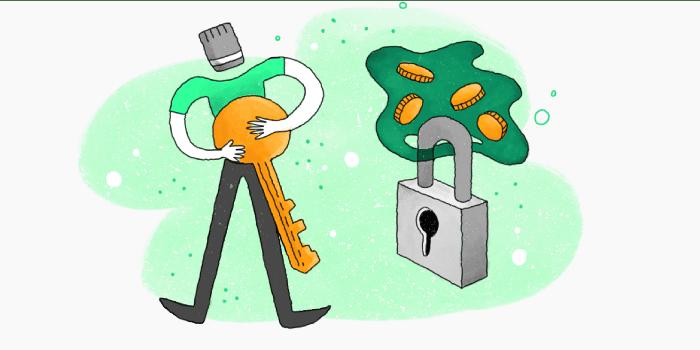 کلید خصوصی والت فیزیکی