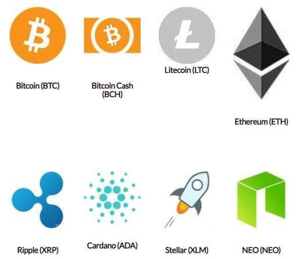 مهمترین سکه های دیجیتالی