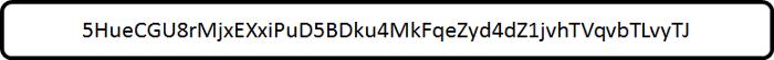 یک کلید خصوصی نمونه