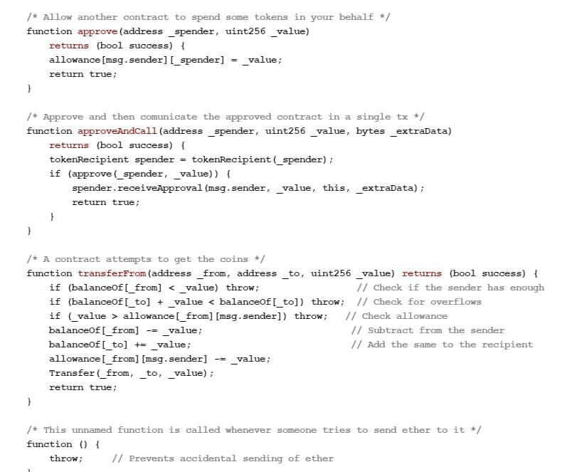 کد قرارداد هوشمند