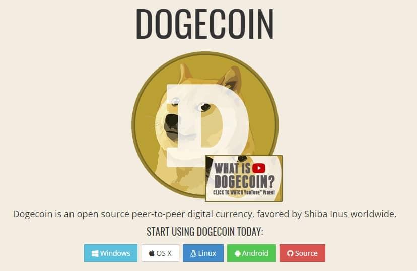 رمز ارز Dogecoin