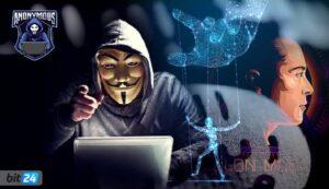 گروه هکر انانیموس چهره واقعی ایلان ماسک را به دنیا نشان داد